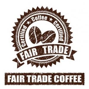 Fair Trade Coffee stamp